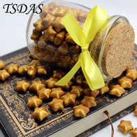 120pcs Vintage Golden Color Sealing Wax In Granule Wax Granule Come With Nice Glass Bottle
