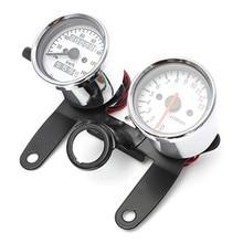 Buy Motorcycle Odometer Tachometer Speedometer Gauge with Black Bracket/Motorcycle speedmeter hot selling  directly from merchant!