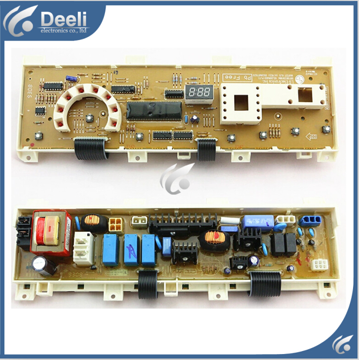 Free shipping 95% new original for Washing Machine WD-N80062 computer board 6870EC9198A board 100% new for washing machine board display board wd n10300d computer board only one side