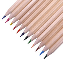 4 Barrels Of 48 pcs Wood Colored Pencil 172 3mm Drawing Student Office Stationery Paper Cylinder
