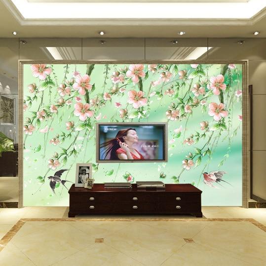 large mural living room sofa bedroom tv background 3d wallpaper 3d