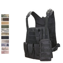Camouflage Hunting Military Tactical Vest Wargame Body Molle Armor Hunting Vest CS Outdoor Jungle Equipment(China)