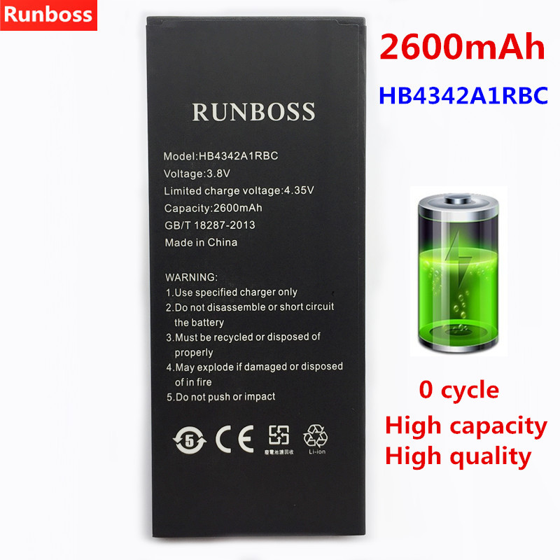 2600mAh For Huawei HB4342A1RBC Phone Battery For Huawei Y5II Y5 II 2 Ascend 5+ Y6 Honor 4A SCL-TL00 Honor 5A LYO-L21 Battery2600mAh For Huawei HB4342A1RBC Phone Battery For Huawei Y5II Y5 II 2 Ascend 5+ Y6 Honor 4A SCL-TL00 Honor 5A LYO-L21 Battery