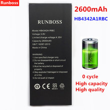 2600mAh For Huawei HB4342A1RBC Phone Battery For Huawei Y5II Y5 II 2 Ascend 5+ Y6 Honor 4A SCL-TL00 Honor 5A LYO-L21 Battery for huawei honor 5a lyo l21 y6 ii compact y5 ii y5ii card slots cash wallet pu leather phone cases book style coque cover