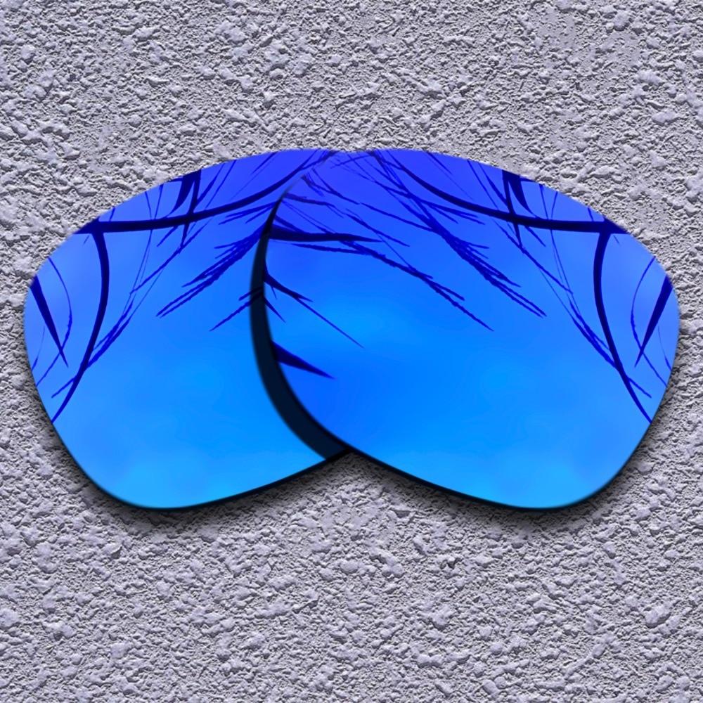 Violet Purple Polarized Replacement Lenses For Oakley Garage Rock Sunglasses
