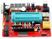Economic 51 MCU development board 8051 study kit on board ISP dev board