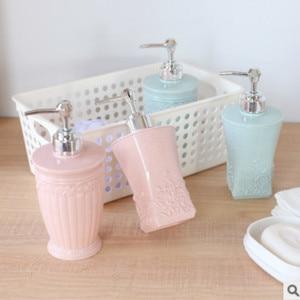 Image 4 - 400ML אירופאי סגנון מגולף מקלחת ג ל מחולק ריק בקבוק יד Sanitizer מפה Dispenser שרף סבון תחליב לחץ בקבוקים