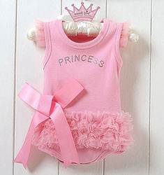 Baby girls princess clothing set cotton jumpsuit infant bodysuit kid children clothing.jpg 250x250