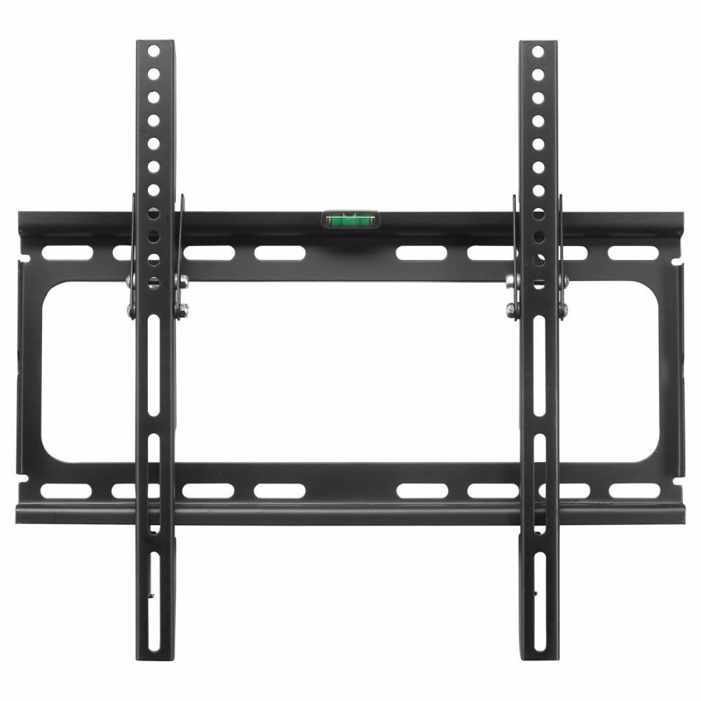 Suptek tv wall mount tilting bracket for most 26 55 inch for Tv wall mount tilt down