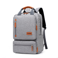 New 2019 Fashion Men's Backpack Bag Male Canvas Laptop Backpack Computer Bag high school student college student bag Travel bags