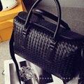 2016 женские Сумки Тенденции Моды Старинные Тканые Сумки Большой сумки мешок основной Высокое Качество Сумка Кошелек Большой Мешок