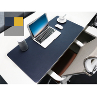 mouse pad Oversized PU Leather Mouse Pad 90 x 45 cm Multifunctional Computer Desk Pad gaming mouse pad for PC game mouse gamer