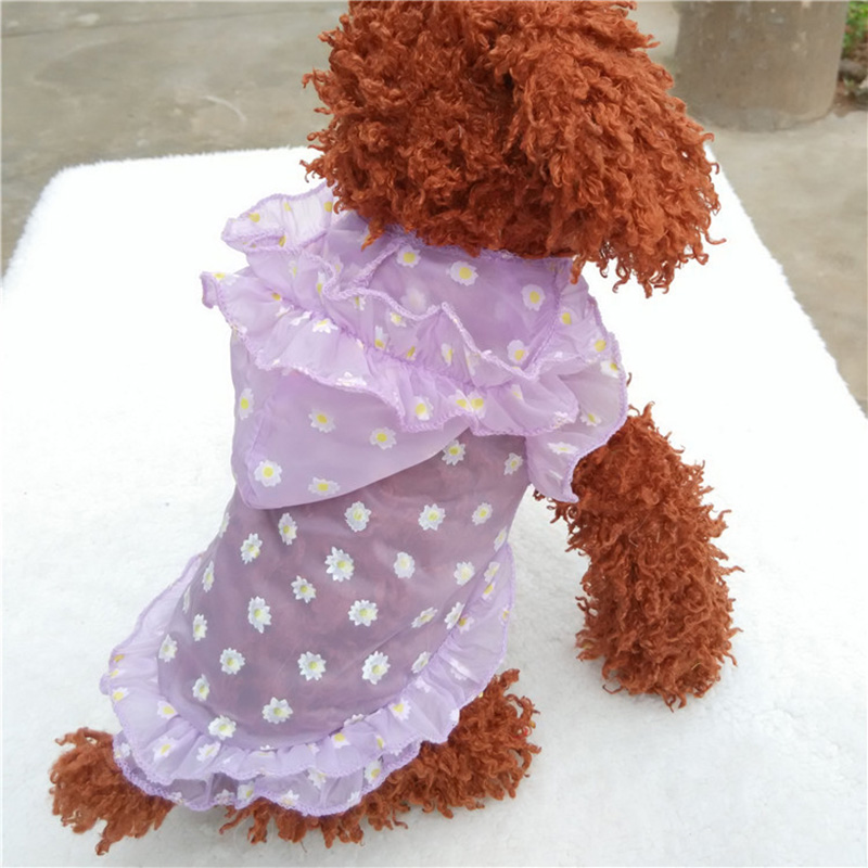 New Summer Pet Dog Clothes For Dogs Sun Protection Dog