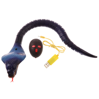 Infrared Remote Control RC Moving Snake Animal Trick Scary Prank Toy Purple
