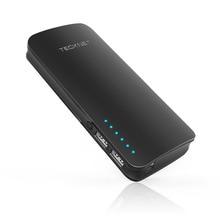 Tecknet powerzen segundo banco de la energía 16750 mah dual 2 puertos usb cargador de baterías externas portátil inteligente teléfono móvil ic powerbank