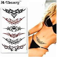 M-theory Sexy Lace Arts Choker Makeup Temporary 3d Tattoos Stciker Henna Flash Tatoos Body Arts Swimsuit Makeup Tools