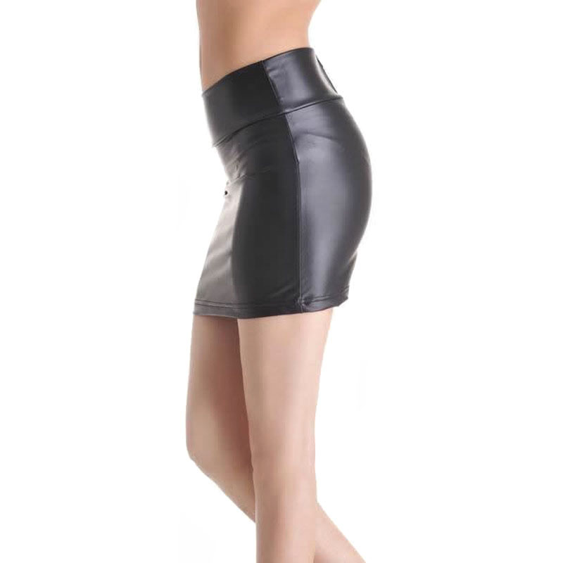 94547b898ab6 2018 New Sexy Women PU Leather Mini Pencil Tube Skirt Bodycon Party Club  Short Casual Skirts FS99-in Skirts from Women's Clothing on Aliexpress.com  ...