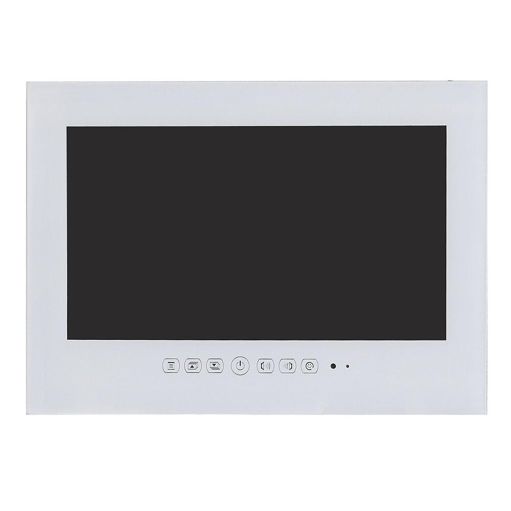 Souria 19 дюймов IP66 водонепроницаемый светодиодный телевизор для ванной комнаты водонепроницаемый настенный Телевизор с плоским экраном черный/белый Телевизор для душа