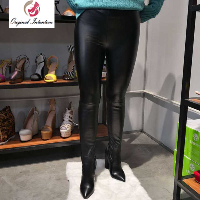 65dc22331938 Original Intention Women Sexy Thigh High Boots Over-the-knee Europe Fashion  Boots Chunk