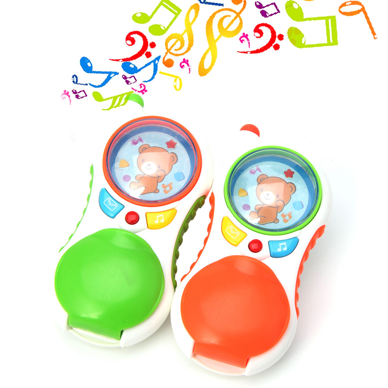 Child Baby Educational Toy Learning Study Cell Phone Toy With Sound And Light O26