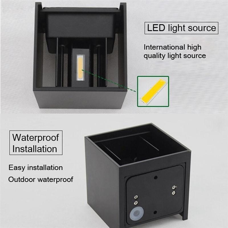 Aliexpress 6 Watt IP65 LED Licht Wandleuchte Schlafzimmer Nachttischlampe Wohnzimmer Balkon Gang Korridor Beleuchtung Von