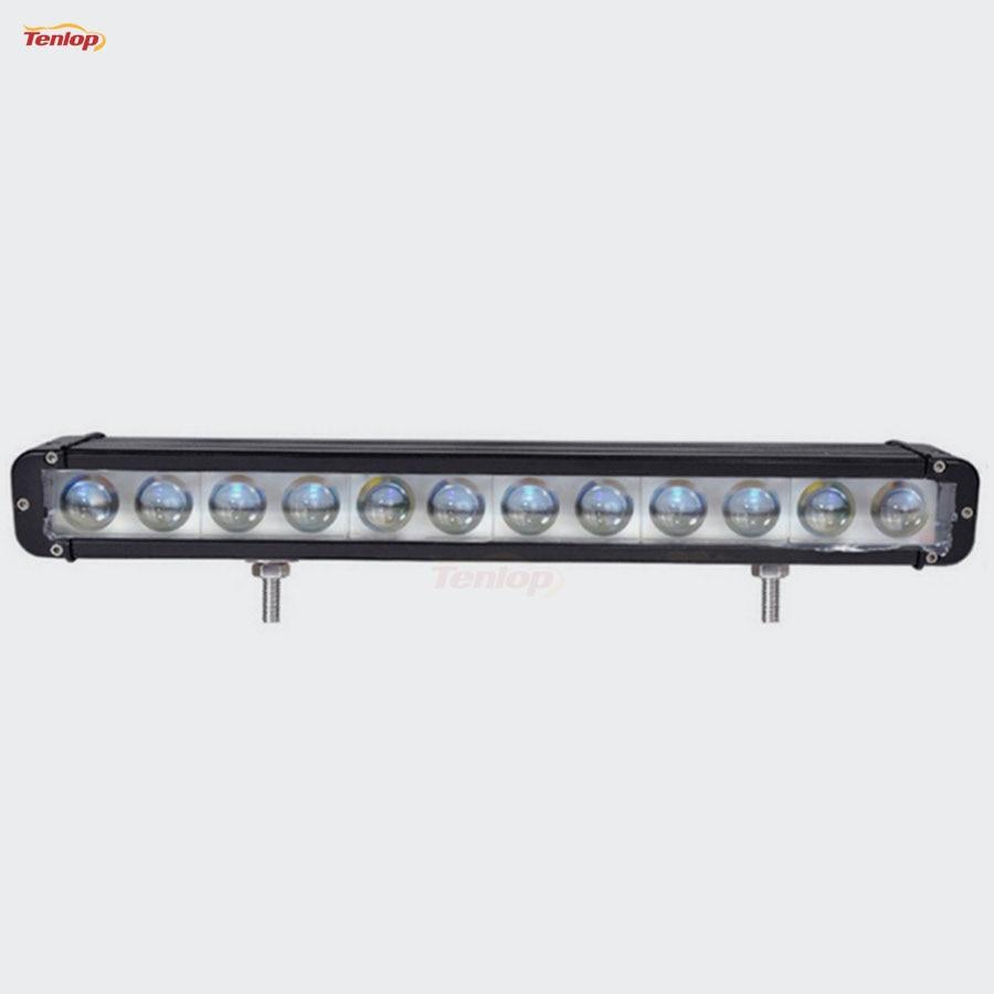 Light Sourcing 20.3 Inch 120W With 4D Lens Front Bumper Grille Light Bar For Offroad SUV ATV 4*4 12V 24V