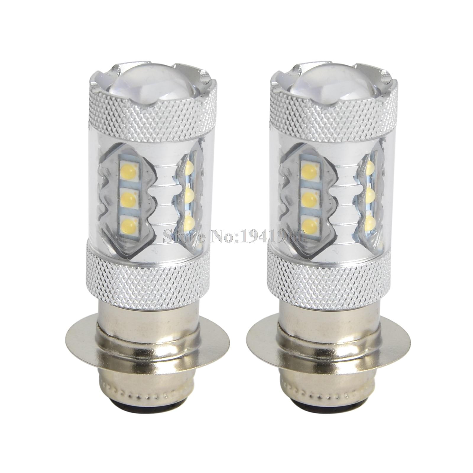 For Yamaha YFM250 Moto-4 Halogen Headlight Bulbs 35W 12V ATV 1989 1990 1991 2PCS