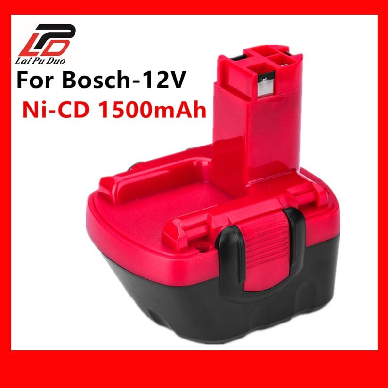 Ni-CD 12 v 1.5Ah Ersatz Für Bosch werkzeug akku 2607335709/2607335249/2607335261/2607335262/2607335273/GSR12-1 GSB12VE-2
