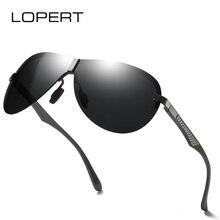LOPERT Pilot Retro Fashion Polarized Sunglasses Classic Brand Sun glasses Night vision lens Driving Shades For Men/Wome UV400 цена и фото