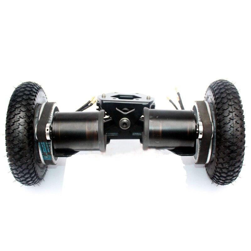 Image 3 - 11inch Truck Electric Skateboard Brushless Motor 8inch Whlees Off Road Skateboard Belt Drive Bridge 4 Wheel Long BoardSkate Board   -