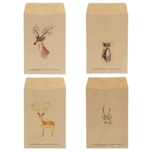 Buy 12Pcs Vintage Deer Mini Paper Envelope European Style Card Scrapbooking Gift New directly from merchant!