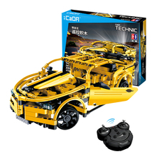 цена на Technic Series RC Car Model Remote Control Racing Car Electric Building Blocks Bricks Toys For Children Gift