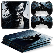 High Quality Joker Decals Cover Skin Vinyl Stickers For PS4 Pro