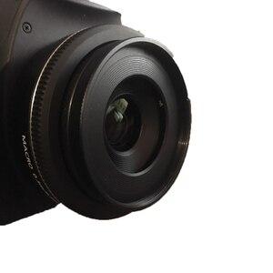 Image 5 - 10 قطعة/الوحدة ES 52 المعادن عدسة هود الظل لكانون EF S 24 مللي متر F2.8 STM EF 40 مللي متر f/2.8 STM فطيرة