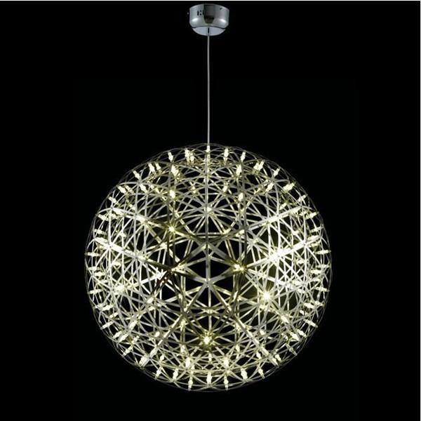 Aluminum Big Ball Riamond Round LED Chandelier Lustres Modernos Lamps For  Home Modern Lustre Pendant Light