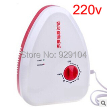 portable ozone generator air purifier water ozonizer ionizer ozonator ozone purifier AC220V oxygen machine with 400mg/h