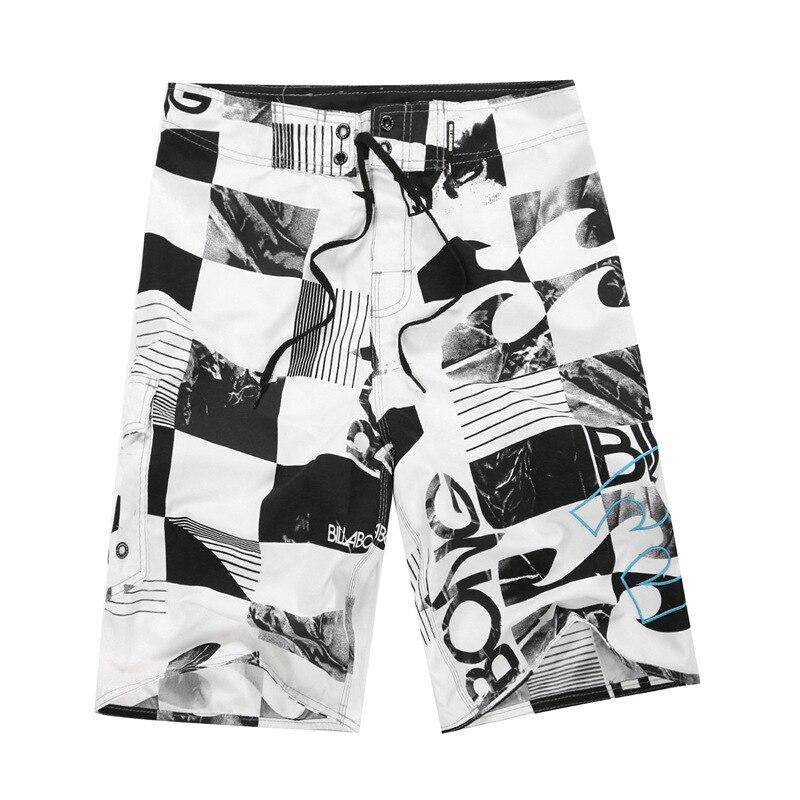 2018 Zeitlich begrenzte Quick Dry Neue Druck Männer Polyester Shorts Surf Board Sommer Strand Homme Bermuda Kurze Hosen Boardshorts