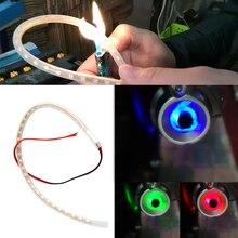 1 комплект, светодиодный фонарь для мотоцикла, для скутера, Переделанный, Torching, термостабильность, лампы для мотоцикла, лампы для выхлопной трубы, декоративные лампы для мотоциклов