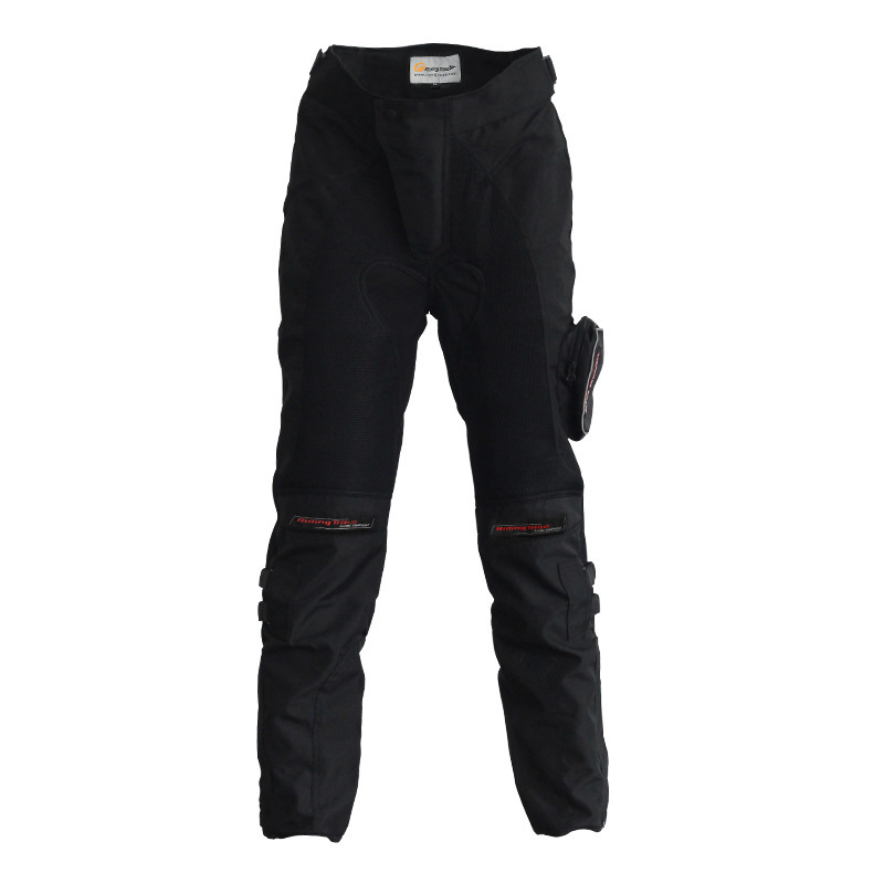 1PCS Windproof Motorcycle Riding Pants Enduro Apparel Suits Motocross Off-Road Racing Sports Protective Sports Pants riding tribe motorcycle pants racing trousers windproof men scasual pants wear resistant protective knee sports motorcross pants