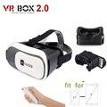 Vander Realidade Virtual Óculos 3D Caixa de papelão VR VR II CAIXA 2.0 Para 4.0 ''-6.0'' smartphone com Remoto Bluetooth Gamepad