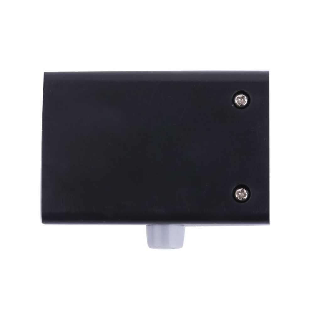 Черный ABS Универсальный мини USB обмен хаб разъемов коробка концентратор 2 порта ПК компьютерный Сканнер принтер руководство отличная акция