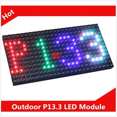Fullcolorled Display 2016 good quality product P13 33 Outdoor display full color led module in NETHERLANDS
