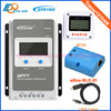 Automatic Voltage 12V 24V Battery Charger Solar Controller LCD Display MPPT Tracer1210AN USB Cable And BLE
