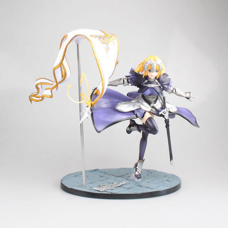 Dessin animé destin Grand ordre Apocrypha Jeanne sept générations drapeau Ver PVC figurine à collectionner modèle poupée jouet 23 cm