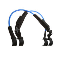 2Pcs Non Slip Windsurfing Harness Line Adjustable TPU Water Sports Wind Surfing Accessory Blue 22 28 Inch