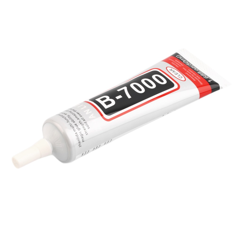 Newest 50ml B-7000 Practical Super Strong Adhesive Glue With Needle For Mobile Phone DIY Shell Rhinestones