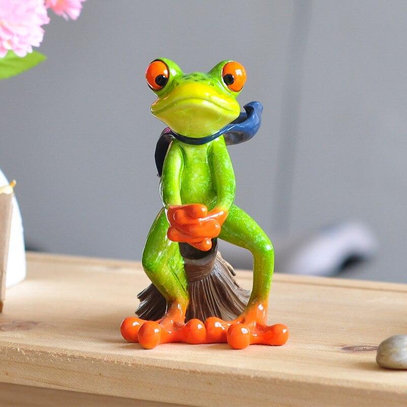 aliexpresscom acheter balai volant grenouille rsine figurines craofts artificielle grenouille jouet animal nouveaut rom vivant dcoration de nol cadeau