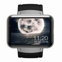 DM98 Bluetooth Smart Watch 2.2 inch 3G Smartwatch MTK6572 Dual Core 1.2GHz Camera GPS WIFI Fitness Tracker Sleep Tracker (C)