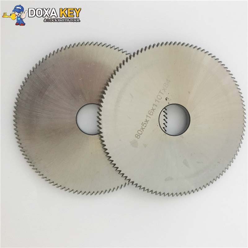 high speed steel M42 double angle milling cutter B81 key slotting cutter for AN-SAN TR-9930 key cutting machines milling cutter 70x7 3x12 7x26t welded carbide cutter for wenxing portable q27 100d 100g 100e horizontal key cutting machines