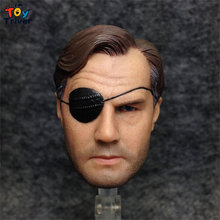 1/6 Scale The walking dead, one-eyed person Phillip Head Sculpt Head Model DIY Accessories Toy Action Figure Body 12″ Doll
